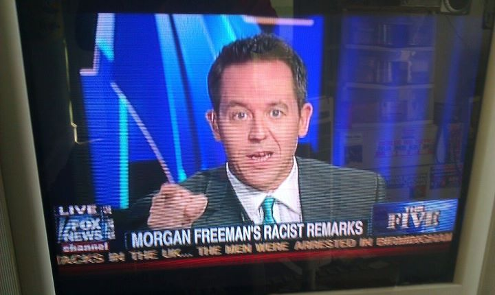FOX News: The Five: Morgan Freeman's Racist Remarks