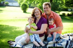 The elusive white family in its native suburban habitat