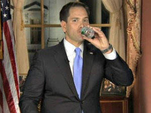 Rubio is a thirsty jerk