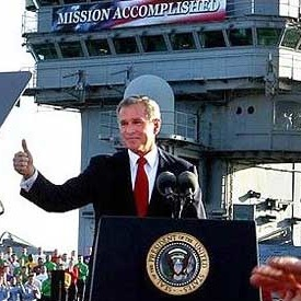 Bush Mission Accomplished