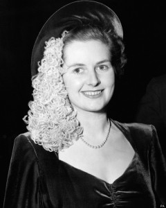 Politics - Thatcher wedding day - 1951