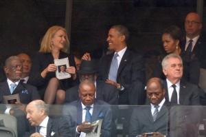 President Obama Helle Thorning-Schmidt